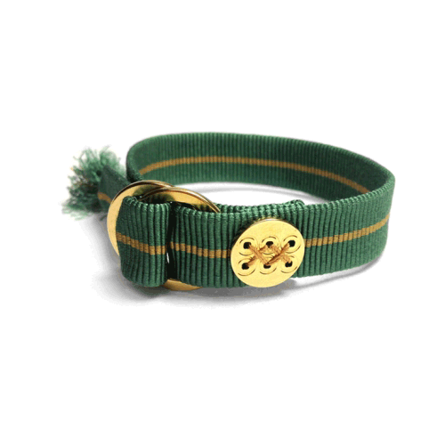 Samurai Cord 侍コード Green Gold Pine Needle