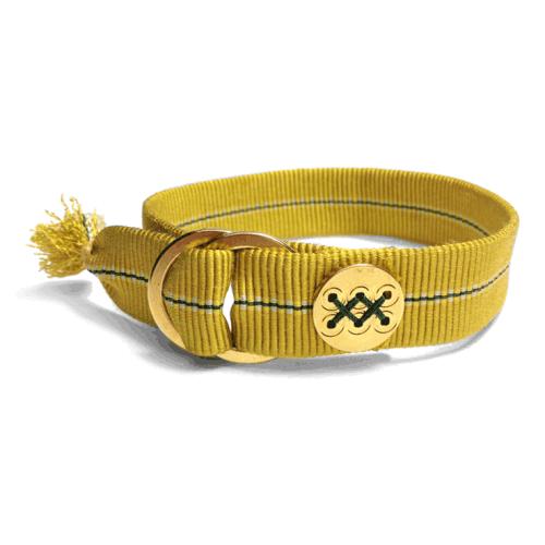 Samurai Cord 侍コード Yellow Green Pine Needle